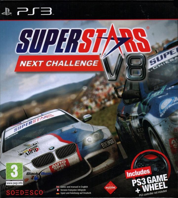 Superstars V8 Next Challenge incl. Steering Wheel