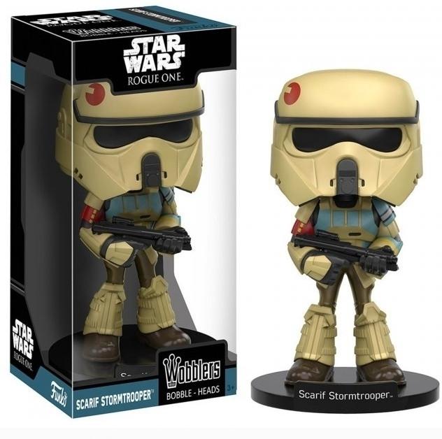 Star Wars Rogue One Wobblers - Scarif Stormtrooper (schade aan doos)