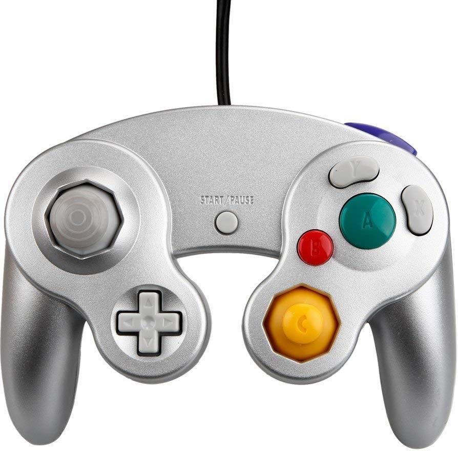 Gamecube Controller Silver (Teknogame)