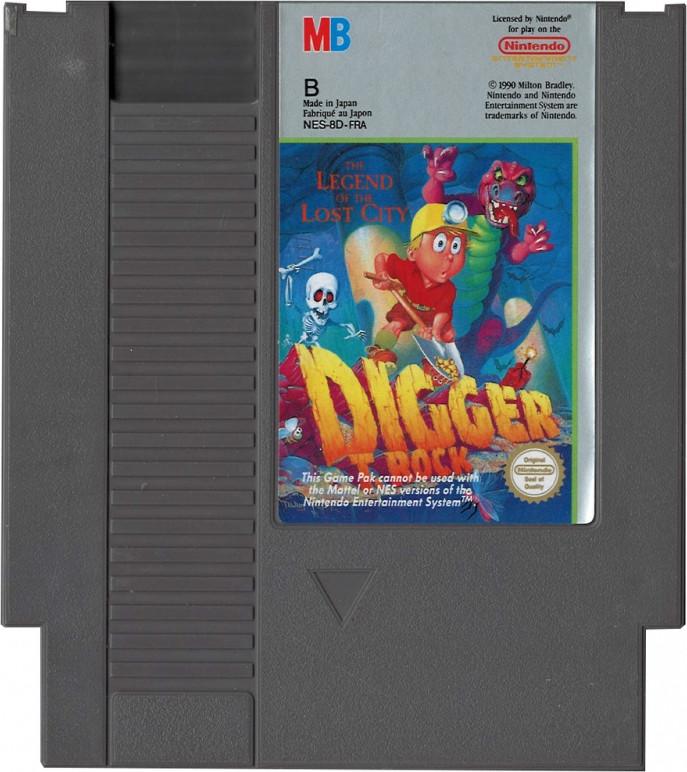 Digger T. Rock (losse cassette)