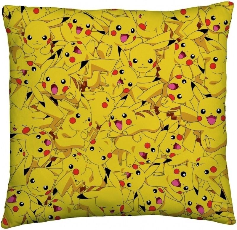 Image of Pokemon Cushion Pokeball/Pikachu