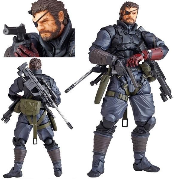 Metal Gear Solid 5 the Phantom Pain: Venom Snake Figure (Sneaking Suit Version)