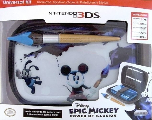 Afbeelding van Epic Mickey System Case & Paintbrush Stylus