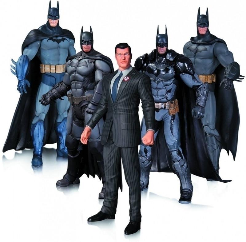 Image of Batman Arkham Action Figure Pack (5 figures)