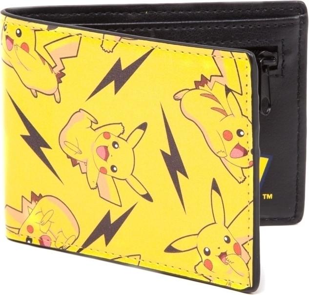 Pokémon - All Over Pikachu Bifold Wallet (8718526224344)