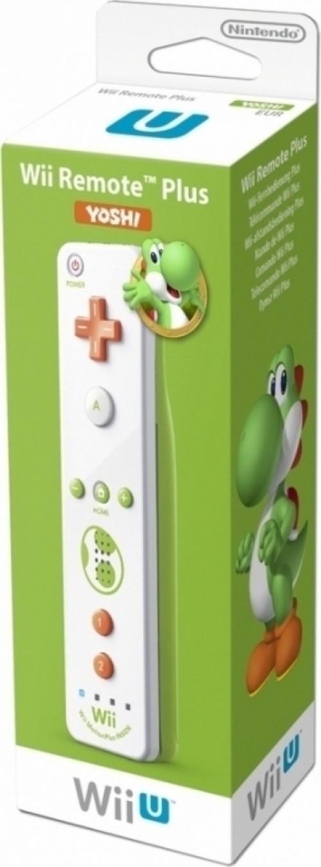 Nintendo Wii U remote controller Plus Yoshi edition