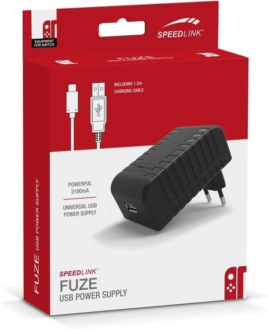 SPEEDLINK Nintendo Switch FUZE USB-thuislader