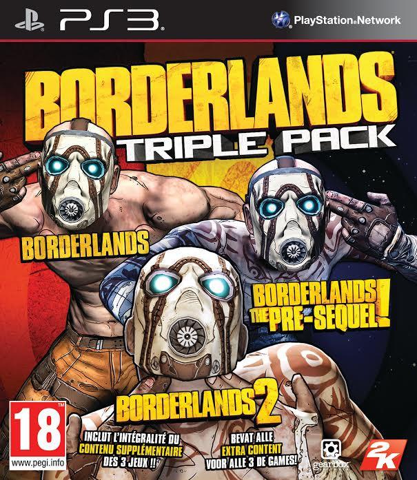 Image of Borderlands Triple Pack