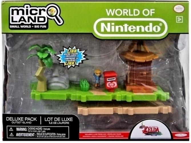 Zelda Microland Playset Deluxe - Outset Island