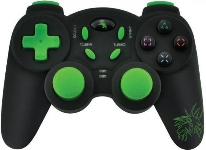Image of Dragon War Dragon Shock Wireless PS2 Controller