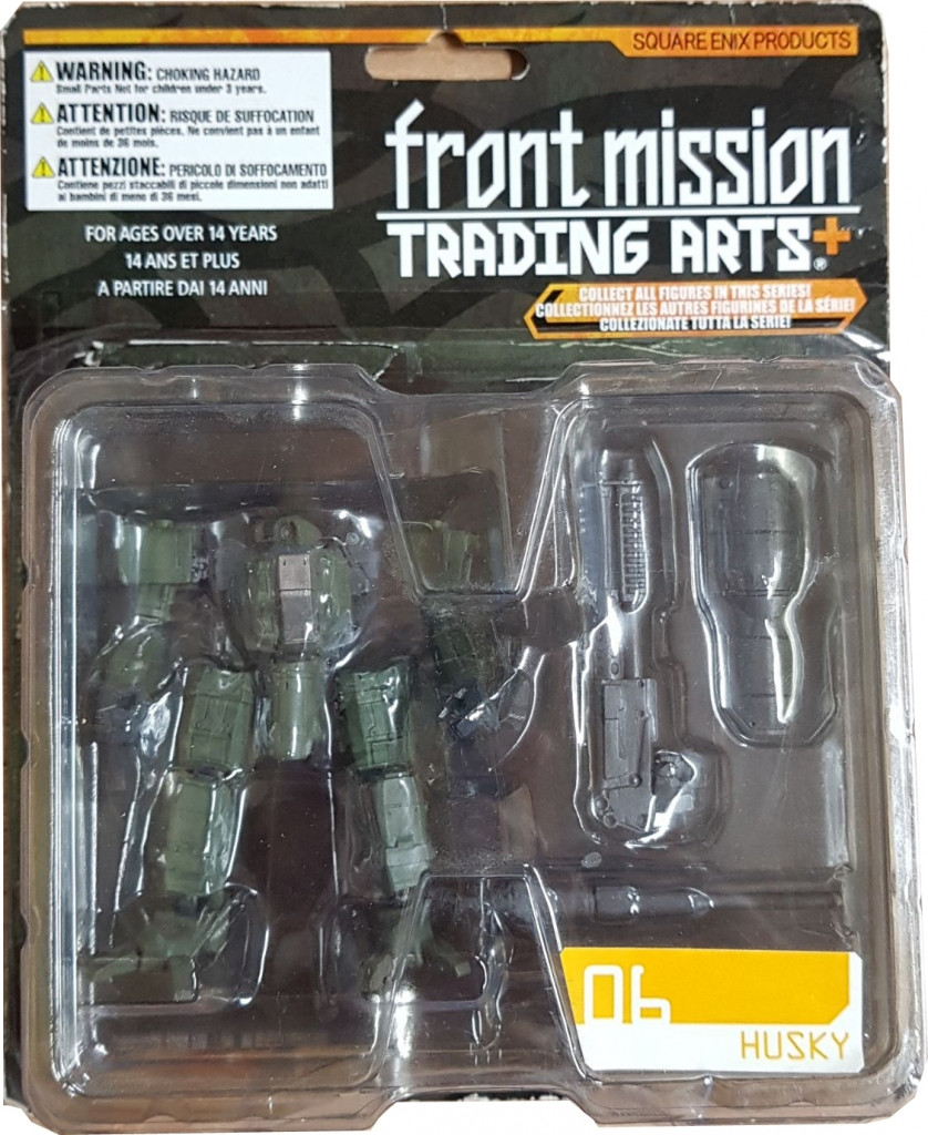 Front Mission Trading Arts Figure 06 - Husky