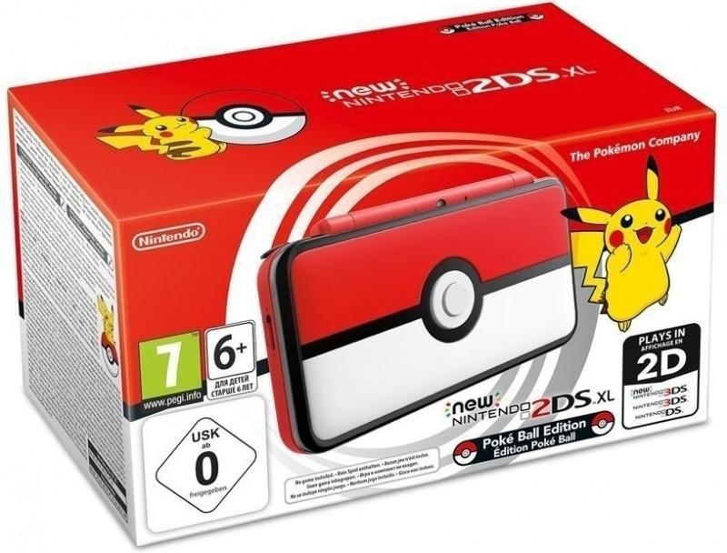 New Nintendo 2DS XL (Pokeball Edition) voor €122