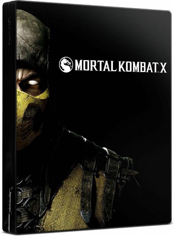 Mortal Kombat X (steelbook)