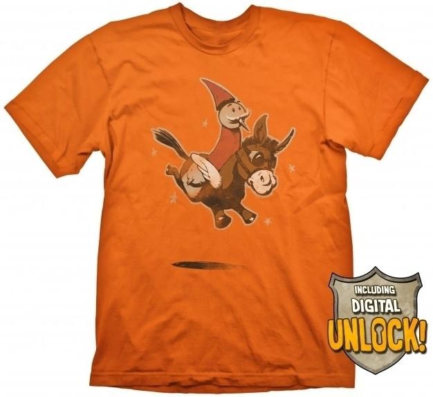 DOTA 2 T-Shirt Wizard & Donkey + Ingame Code