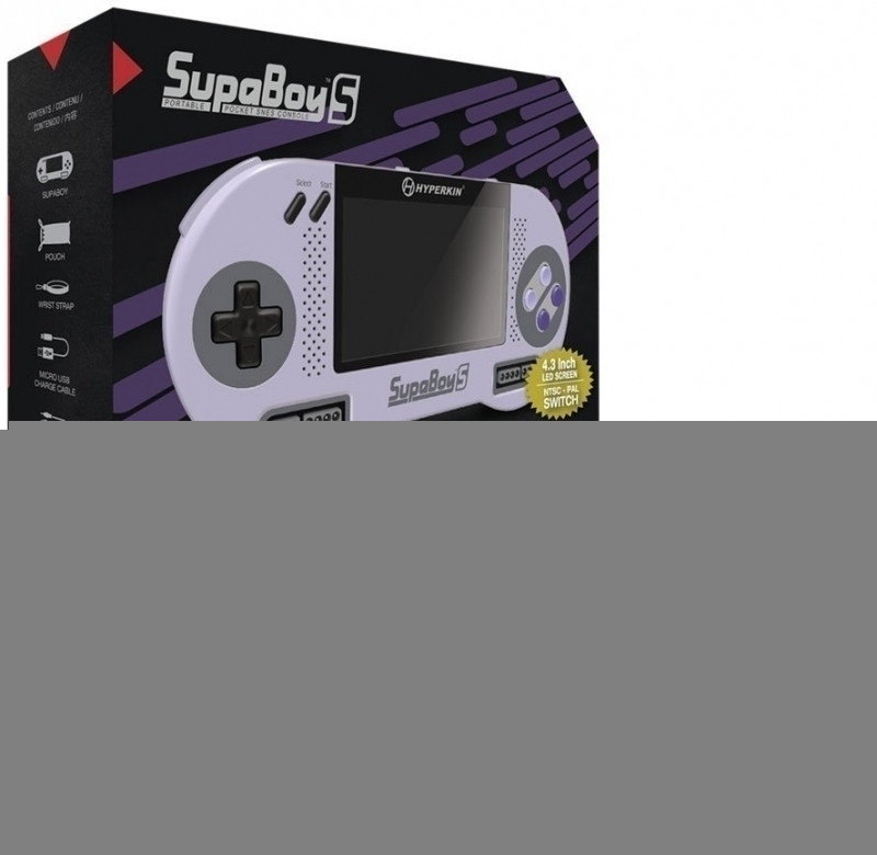 Hyperkin Supaboy S Pocket SNES Console