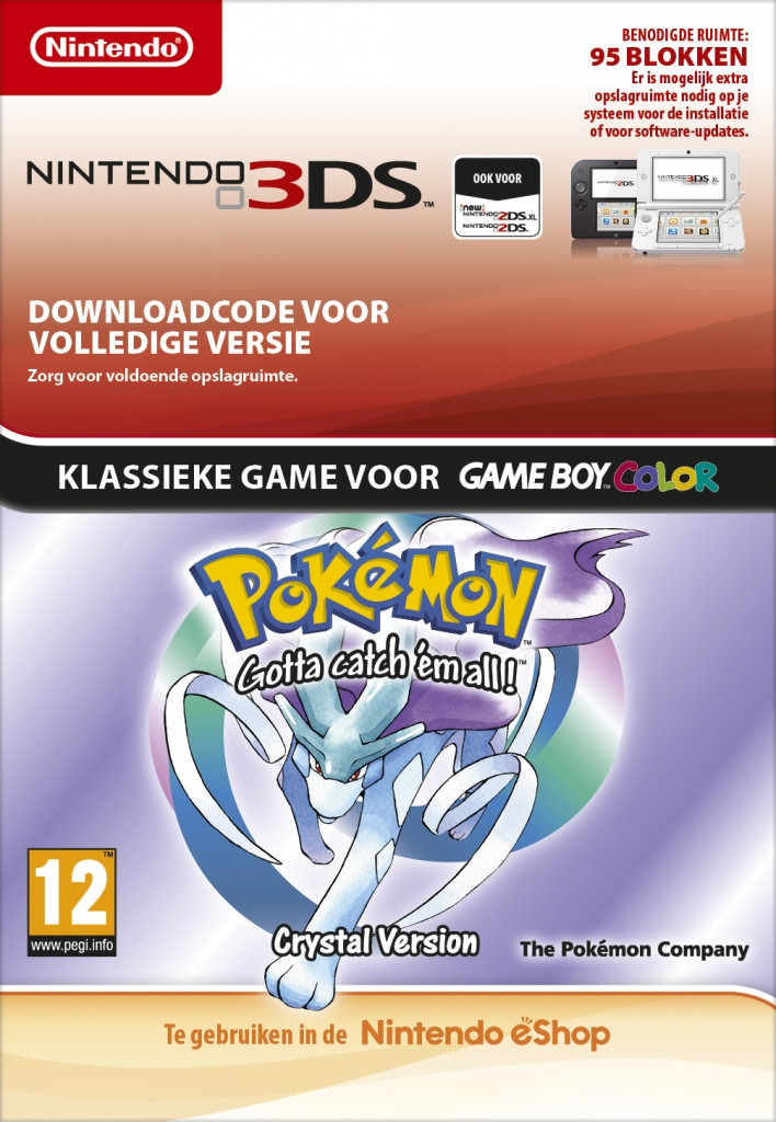 Goedkoopste Pokémon Crystal Edition English Virtual Console