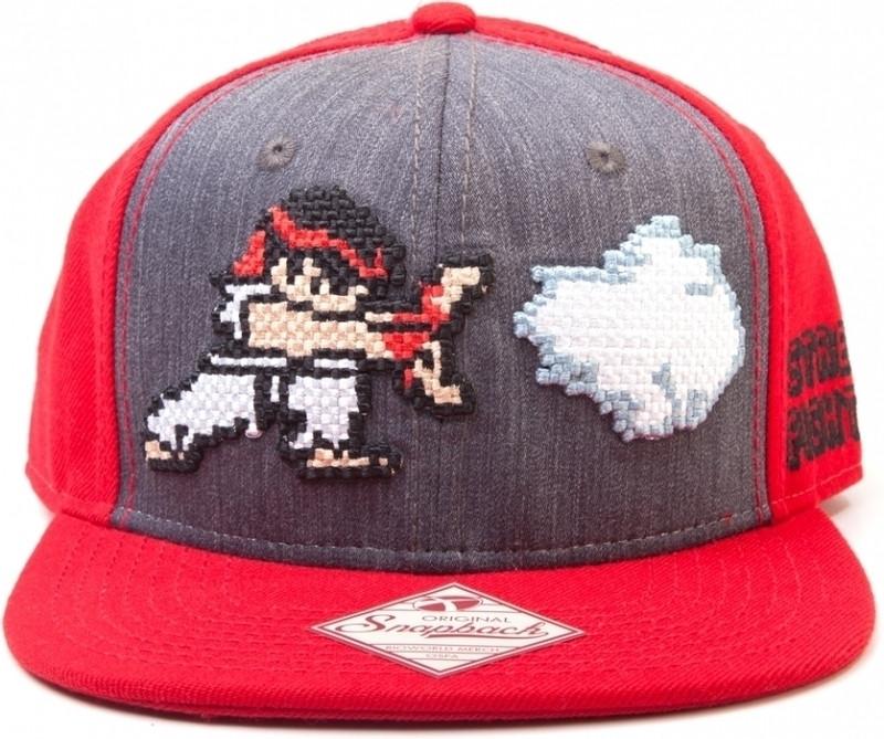 Street Fighter - Hadouken Snapback Cap
