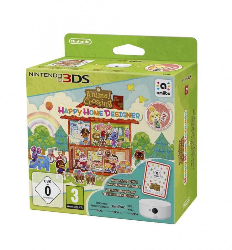 Animal Crossing: Happy Home Designer + NFC Reader-Writer Pack 3DS