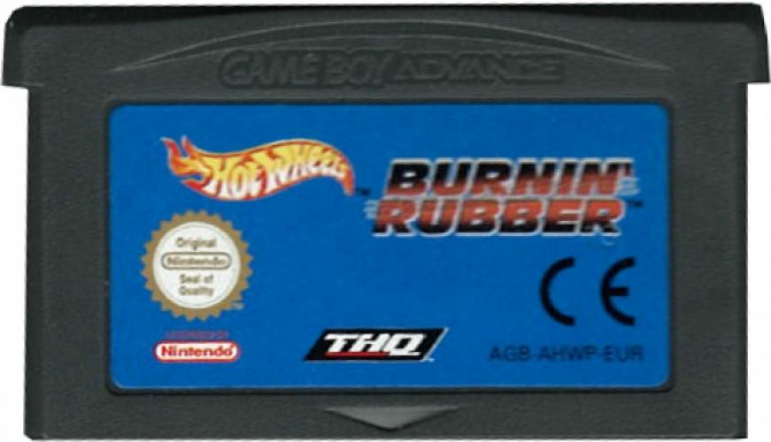 Hot Wheels Burnin Rubber (losse cassette)