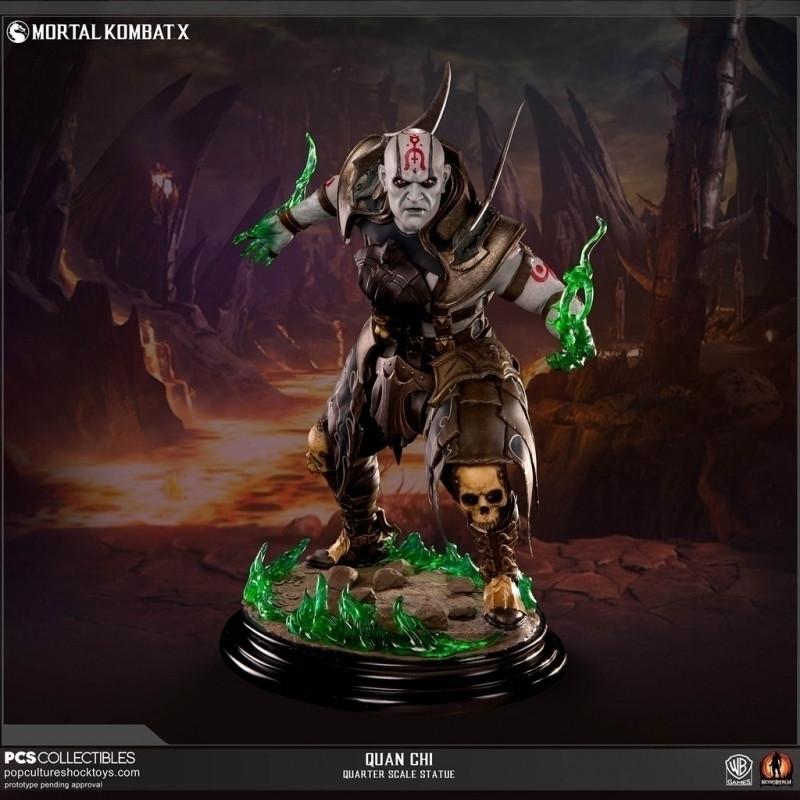 Mortal Kombat X Quan Chi 1:4 Scale Statue kopen