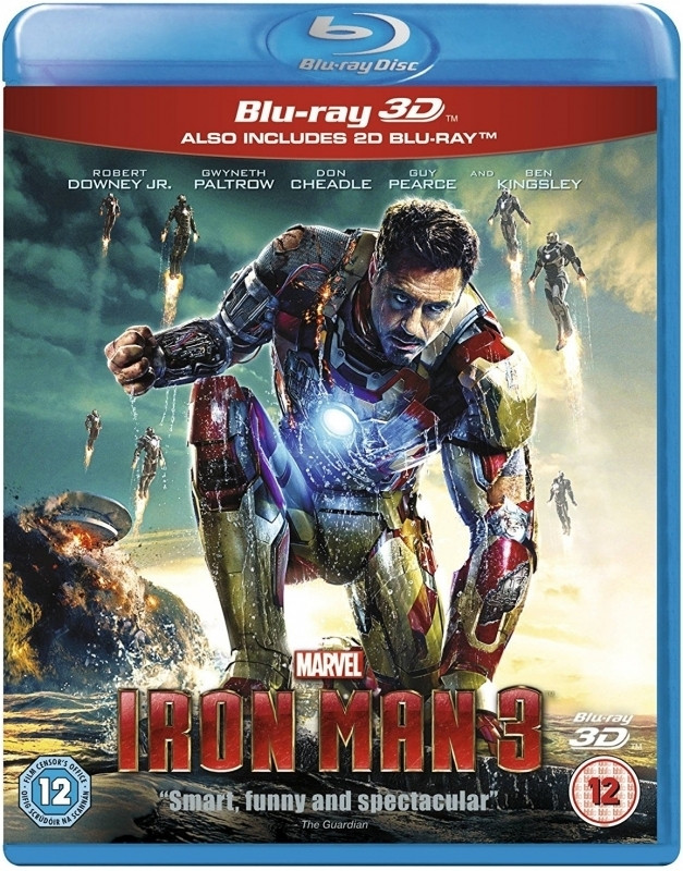 Iron Man 3 (3D & 2D Blu-ray)