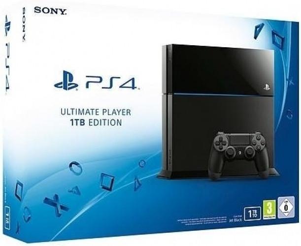 Playstation 4 (Black) 1TB