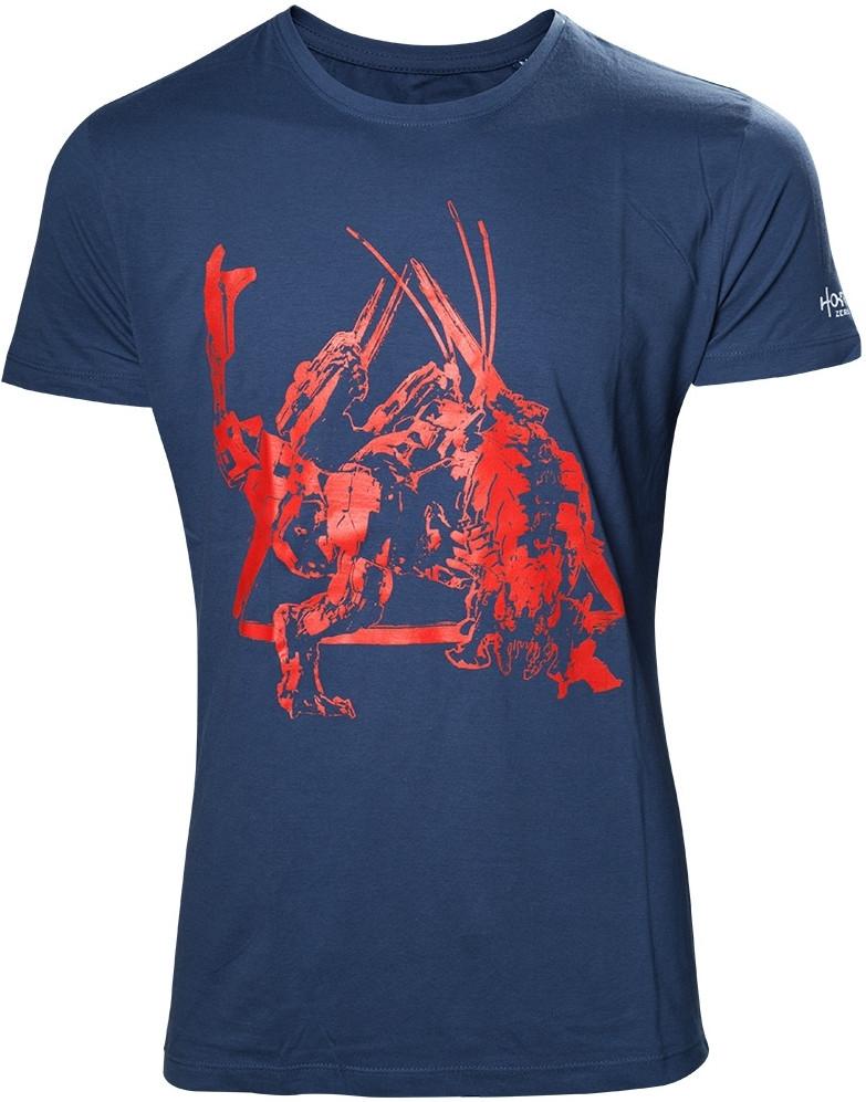 Horizon Zero Dawn - Red Dinosaur Mech T-shirt
