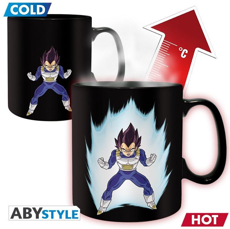 Dragon Ball - Vegeta Heat Change Mug