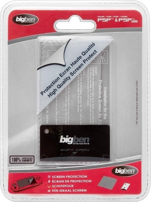 Goedkoopste Big Ben Screen Protection Kit PSP / PSP Slim and Lite (PSPKIT)