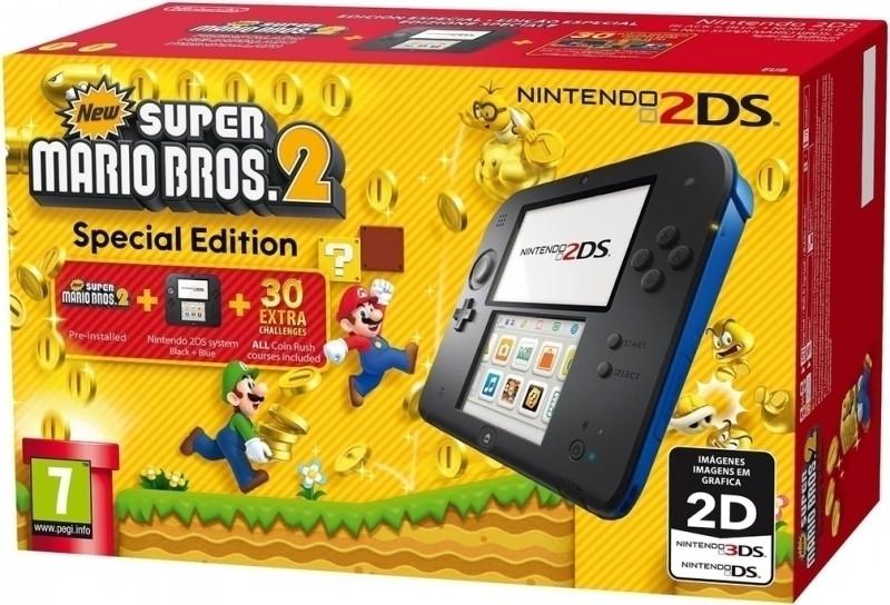 Nintendo 2DS Console + Mario Bros.2
