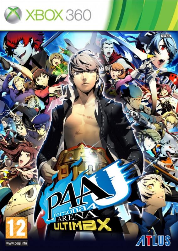 Image of Persona 4 Arena Ultimax (verpakking Frans, game Engels)