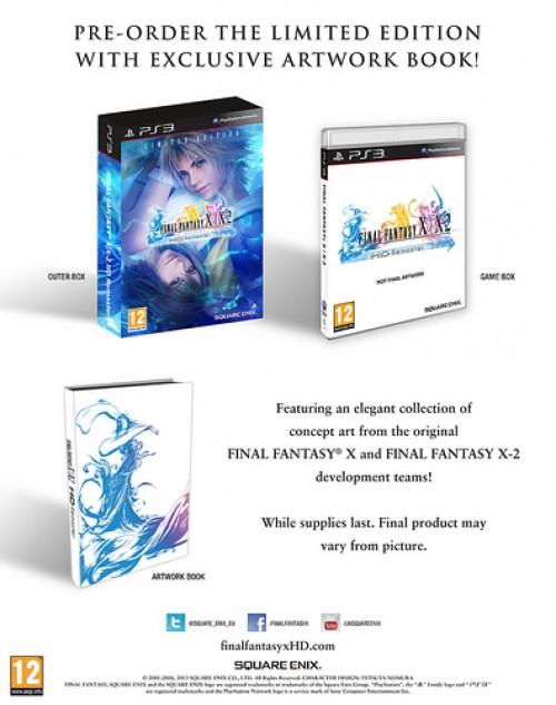 Final Fantasy X & X2 HD Remaster (Limited Edition) kopen