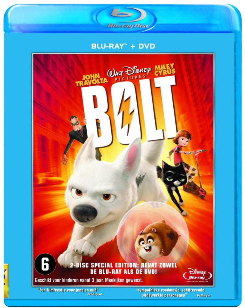 BOLT (Blu-ray + DVD)