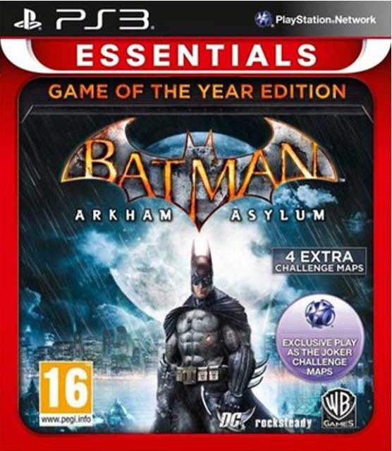 Batman Arkham Asylum (Game of the Year Edition) (essentials)