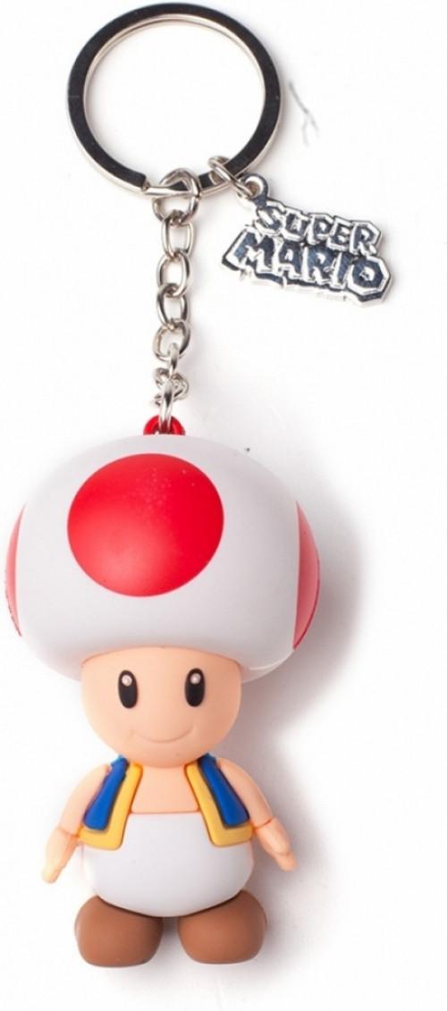 Nintendo - Toad 3D Keychain