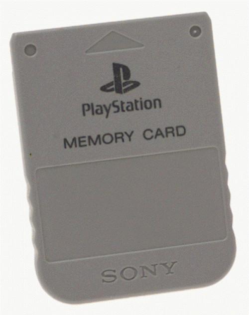 Psone Memory Card (Grey)