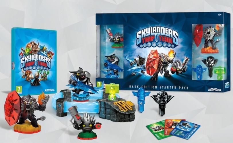Goedkoopste Skylanders Trap Team Starterpack Dark Edition