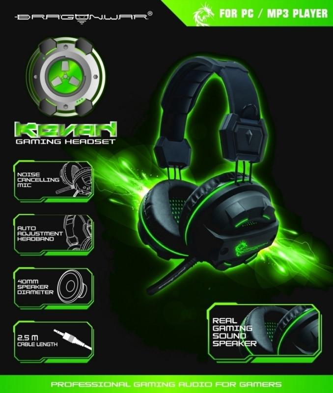 Dragon War Revan Gaming Headset