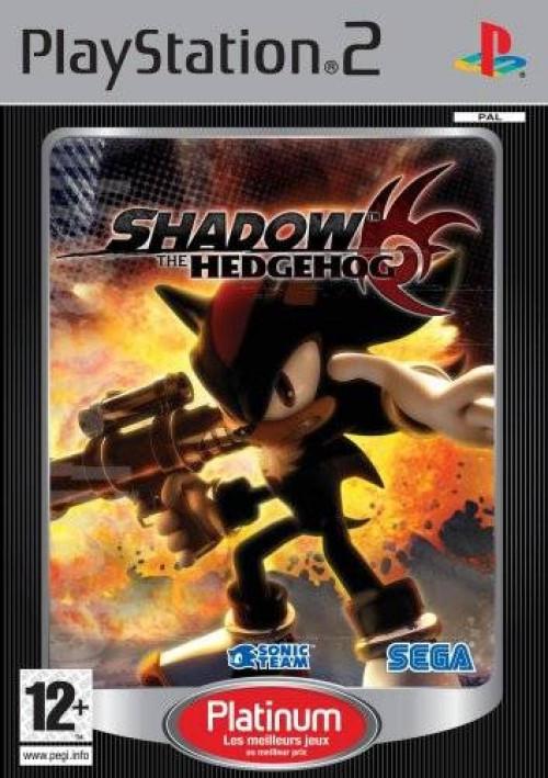Shadow The Hedgehog (platinum)
