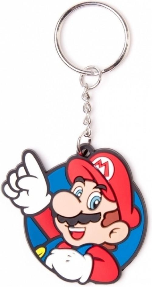 Nintendo Mario. It's Me! Rubberen Sleutelhanger