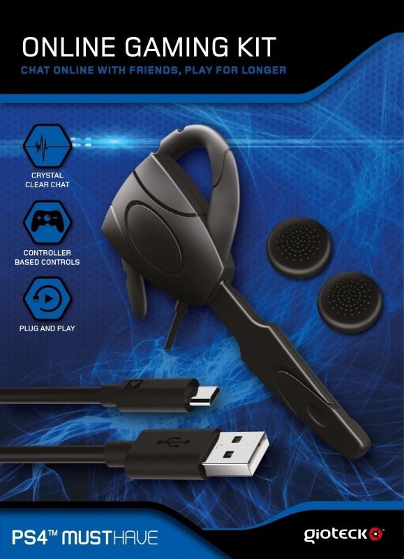 Gioteck Gioteck, Online Gaming Kit PS4 (OGKPS4-11-MU)