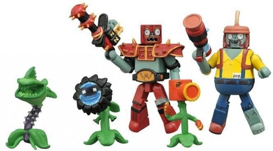 Image of Plants Vs Zombie GW: Minimates Series 2