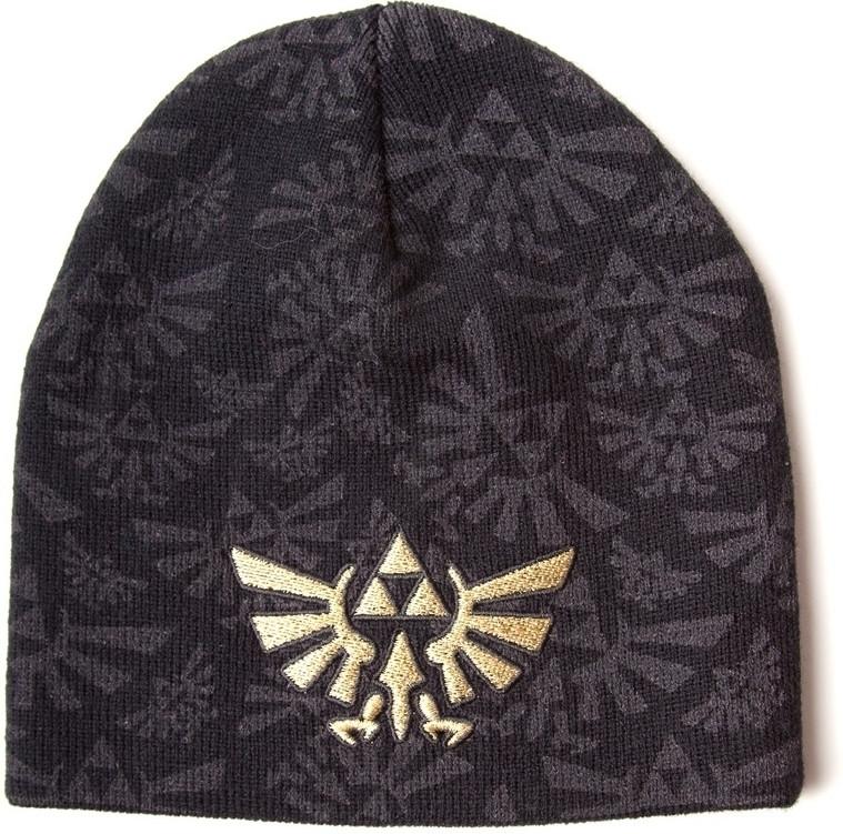 Nintendo Zelda Embroided Beanie (Black)