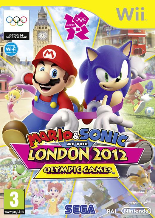 Mario and Sonic op de Olympische Spelen Londen 2012