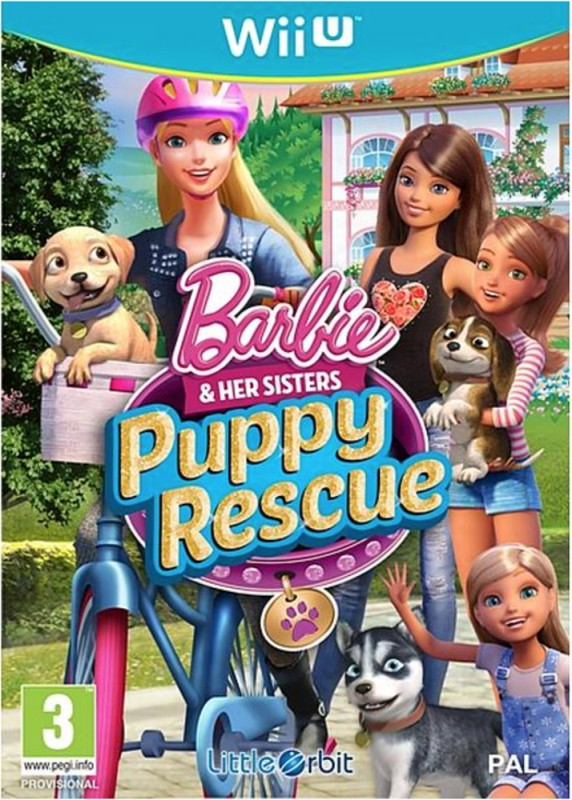Goedkoopste Barbie & Her Sisters Puppy Rescue