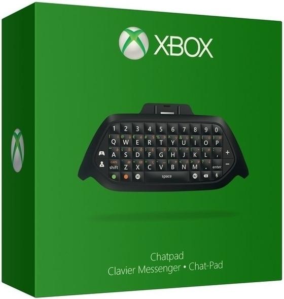 Chatpad zwart Xbox One