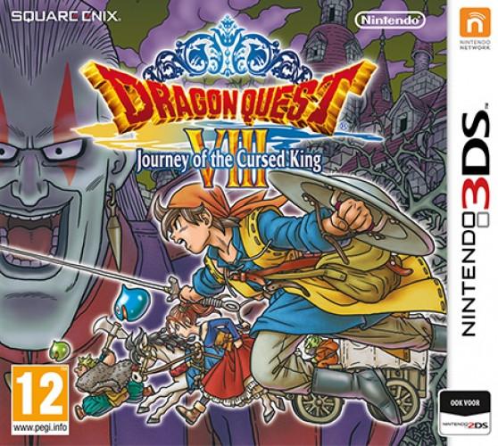 Dragon quest 8, (3DS). NIN3DS
