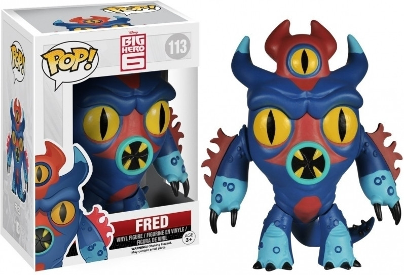 Big Hero 6 Pop Vinyl: Fred