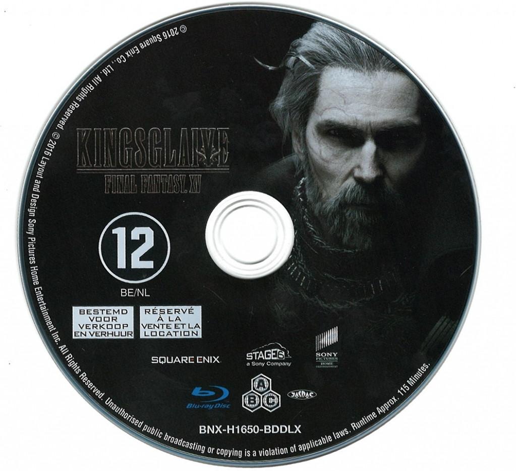 Final Fantasy XV Kingsglaive (losse disc) kopen