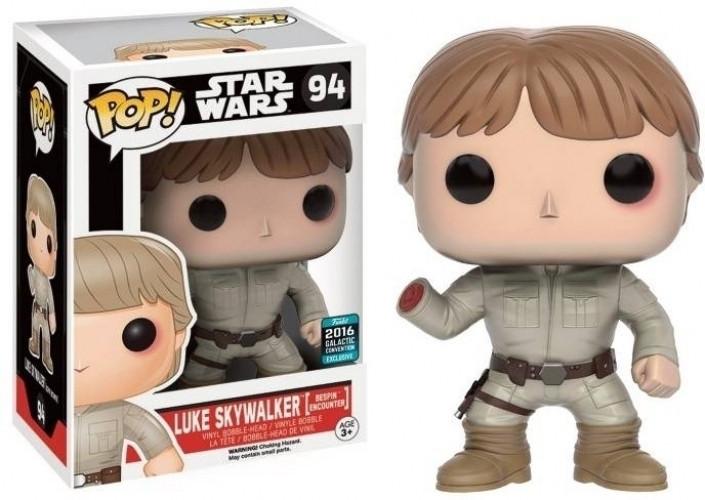 Star Wars Pop Vinyl: Luke Skywalker (Bespin Encounter) Limited Edition